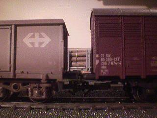 My coal truck and my other brown boxcar have lots of detail as well.
